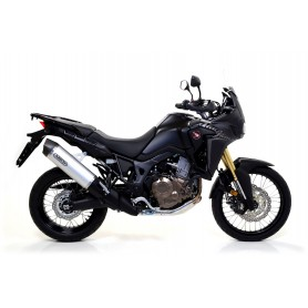 Silencioso Honda CRF 1000 L Africa Twin 16-17 Titanio Arrow Maxi Race Tech