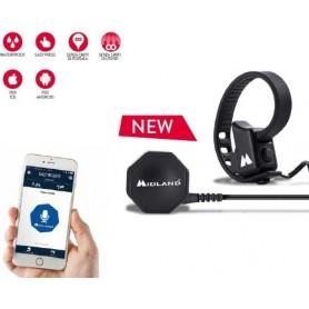 Midland BTT TALK botón pulsador para hablar con grupos sin limite de distancia
