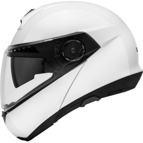 Casco Schuberth C4 Matt White Modular