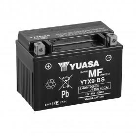 Bateria Moto YTX9-BS Yuasa Hermetica sin Mantenimiento