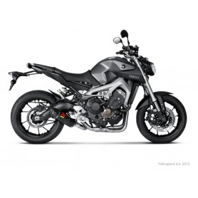 Sistema de Escape Akrapovic Yamaha MT-09 14-16 Carbono Acero inoxidable Racing Line