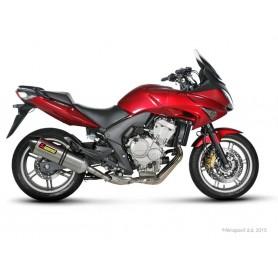 Silencioso Akrapovic Honda CBF 600 08-14 Titanio Slip-on Line