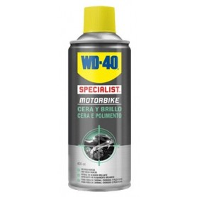 Cera y brillo WD-40 motorbike 400ml