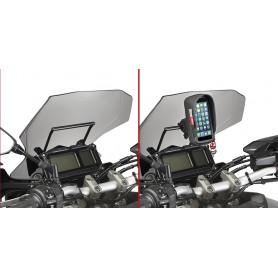 Barra transversal porta Smartphone/GPS Yamaha MT-09 Tracer 15-17 Givi
