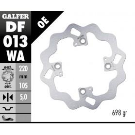 Disco Freno Galfer Wave DF013WA Trasero OE