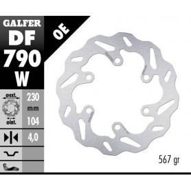 Disco Freno Galfer Wave DF790W Fijo Trasero OE