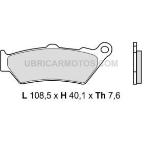 Pastillas Ktm 950/990 Delanteras Brembo Sinterizadas 03-