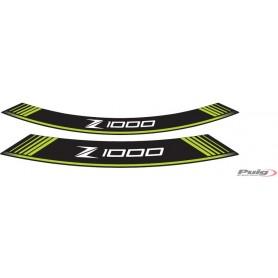 Juego 8 Tiras Arco Kawasaki Z1000 Verde Puig 7590V