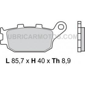 Pastillas Yamaha Yzf R6 Traseras Brembo Sinterizadas 03-