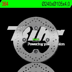 Disco de Freno Delantero Honda SH 125i-150i ABS 2017- NG Brake